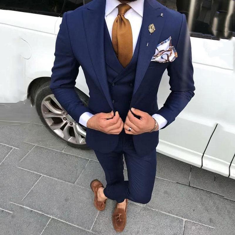 Coat dark pant blue Can I