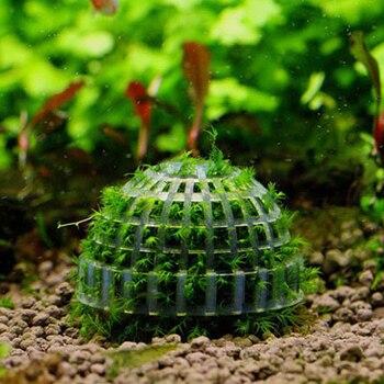 Aquatic Pet Supplies Decorations Aquarium Marimo Moss Ball Live Plants Filter For Java Shrimps Fish Tank Hot Pet Products 1