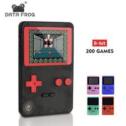 Juego clásico infantil con 200 juegos 2,8 pulgadas 8-Bit PVP portátil consola de juegos de mano familia TV Retro consolas de vídeo