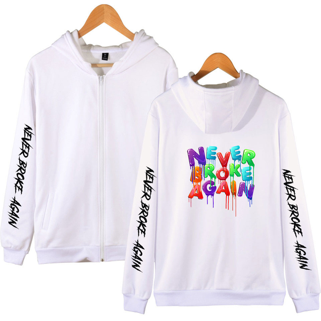 YOUNGBOY NEVER BROKE AGAIN ZIP UP HOODIE (25 VARIAN)