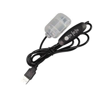 Motore a vibrazione per massaggio con regolazione della velocità a 3 stadi DC 5V 4500 giri/min con interruttore Controller USB