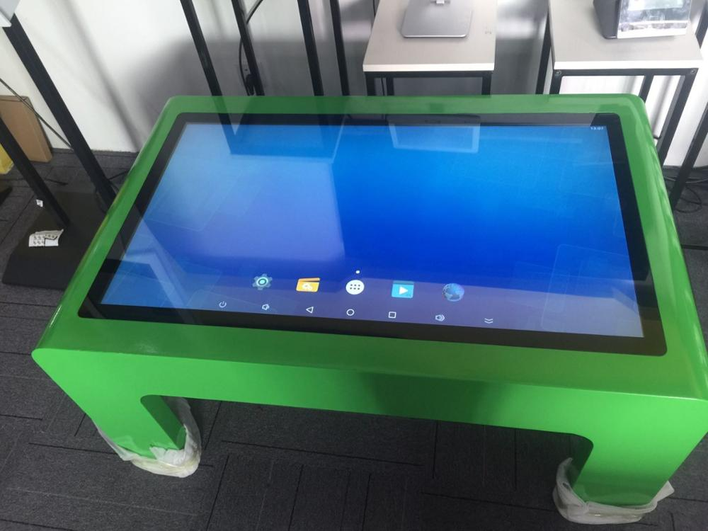 32 43 47 55 Inch 1080P TFT LCD USB Wifi Digital Pc Buit In Table Games Playing Touchscreen Kiosk