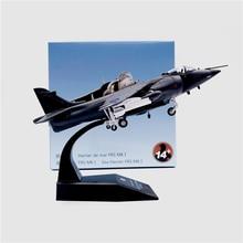 цена 1:72 Harrier Jump Fighter Jet Metal Airplane Plane Aircraft Model Toy онлайн в 2017 году