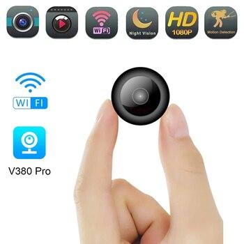 Mini caméra Wifi Full HD 1080P caméscope de sécurité à domicile Vision nocturne Micro caméra secrète détection de mouvement enregistreur vocal vidéo