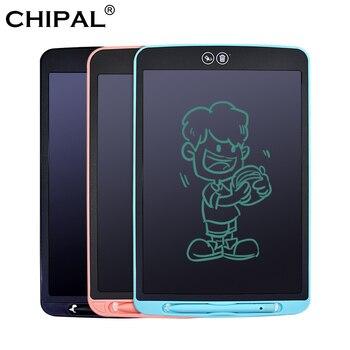 Tablet LCD do pisania 8.5 10 12 częściowo kasowanie tablica do pisania elektroniczne tablety cyfrowe przenośne podkładki do pisania ręcznego z piórem