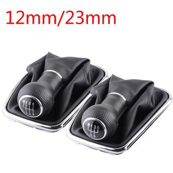 For Volkswagen VW Golf 4 IV MK4 GTI R32 Bora Jetta 5/6 Speed Gear Shift Knob Lever Shifter Gaitor Boot PU 1999-2005 Handball image
