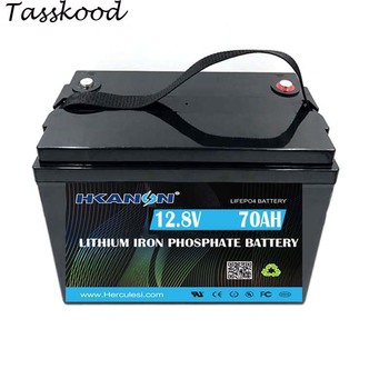 Lifepo4 High Power Lithium Battery 12v 70ah Light Weight Portable Li-ion Battery Pack image
