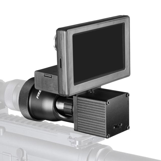 Fire Wolf Night Vision HD 1080P 4.3 Inch Display Siamese Scope Video Cameras Infrared illuminator Riflescope Hunting Optical 3