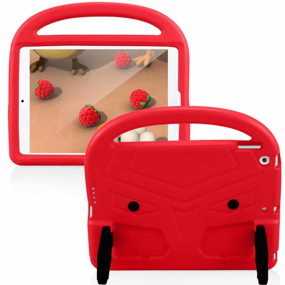 Red Purple EVA Silicon Coque for iPad Pro 11 2018 2020 Case Kids Cartoon Bird Shockproof A1980 A2230