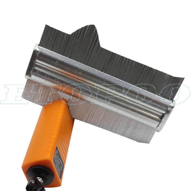 מתכת קונטור מד 125mm 150mm פרופיל ריצוף לרבד אריחי שטיח רדיאן מד מעתק מודד מד Contour מעתק