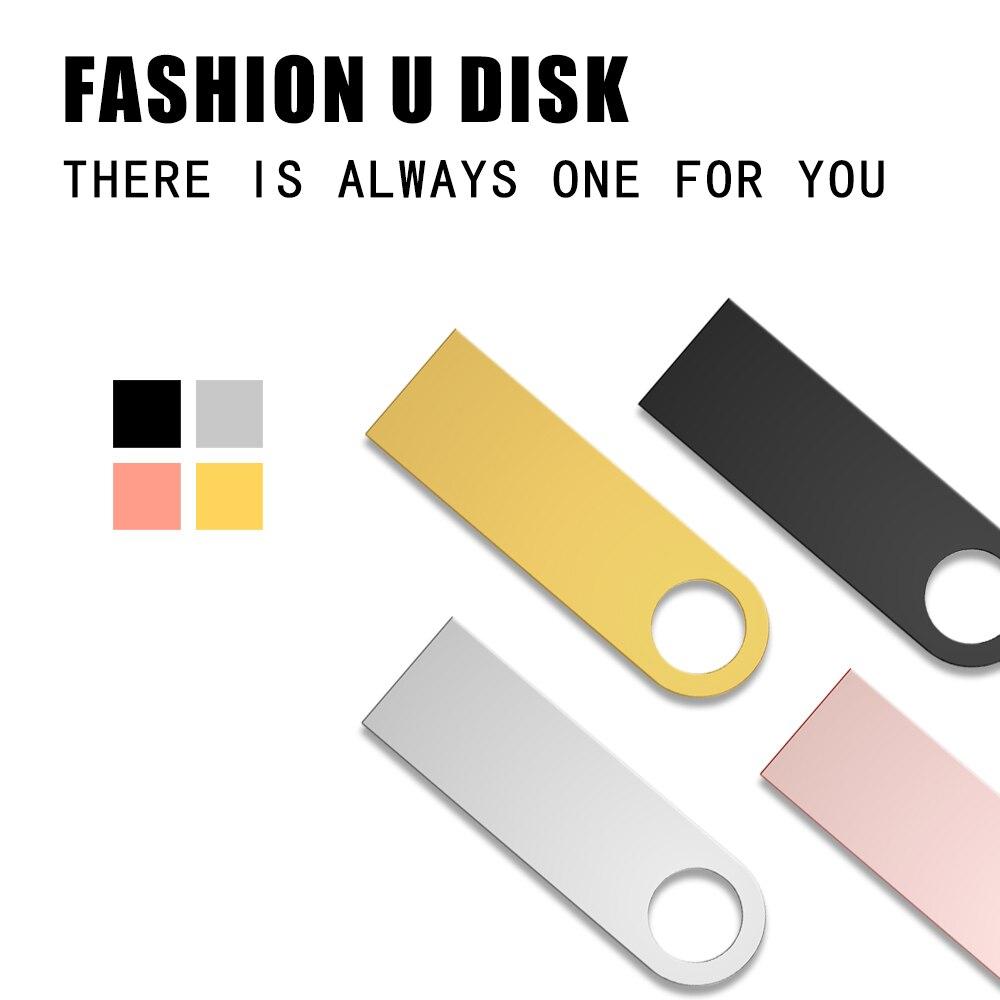 Metal Pen Drive 3.0 PenDrive 32GB 16GB 8GB 4GB High Speed Usb Flash Drive 128GB Key usb Stick 64gb flash memory 256GB Usb Flash (4)