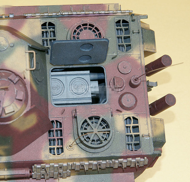 1:25 Scale WW2 Germany Panzerkampfwagen V Panther Sd.Kfz. 171 Tank Paper Model Handmade Toy Puzzles 5
