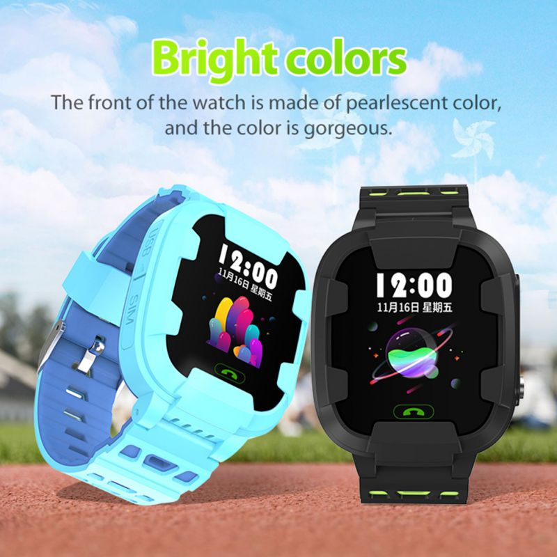 Y88 Children's Smart Watch Wifi+GPS+LBS Positioning Waterproof Take Photo Call Watch With Breathable Strap For Kids