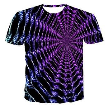 Lo último de 2020, camiseta para hombre con estampado 3D, estilo moderno e informal, impresión 3D, camiseta de secado rápido con impresión en 3D XXS-6XL
