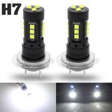 2 шт h7 светодиодный 3030 smd Автомобильная противотумансветильник