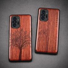 Para xiaomi redmi note 10 pro estojo boogic original de madeira funda redmi note 10 rosewood capa de telefone para redmi note 10 pro