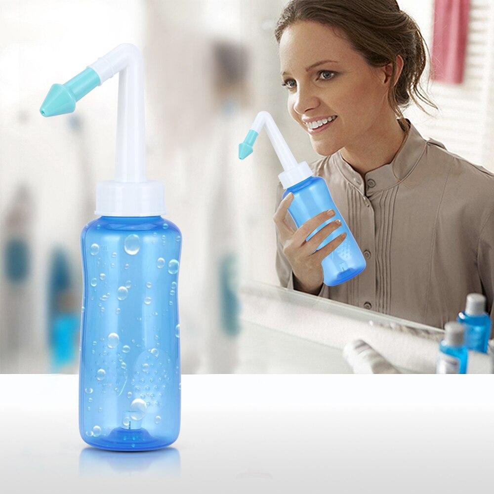 Ev Aletleri'ten Elektrikli Diş Fırçaları'de 300ML Neti Pot Burun Yıkama Temizleyici Burun Koruyucu Nemlendirir Burun Irrigator Meme Temizleme Önlemek Alerji Rinit Sinüs Durulama