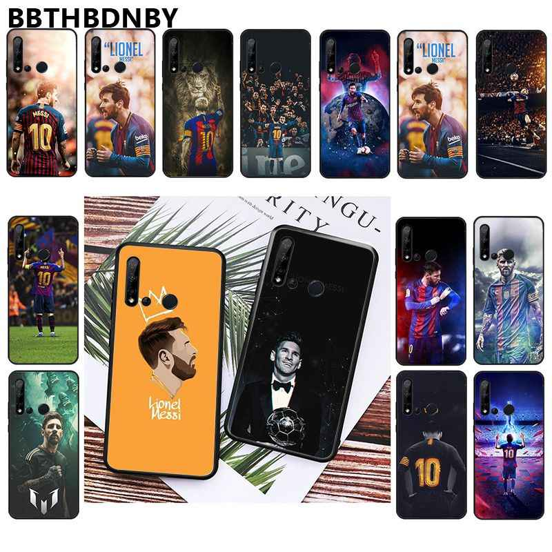 For Huawei mate10 Messi Photo Soft Fundas Phone Case for Huawei P10 lite P20 pro lite P30 pro lite Psmart mate 20 pro lite