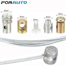 FORAUTO универсальный стальной провод мотоцикл аварийный Дроссельный кабель Ремонтный комплект для SUZUKI KAWASAKI HONDA