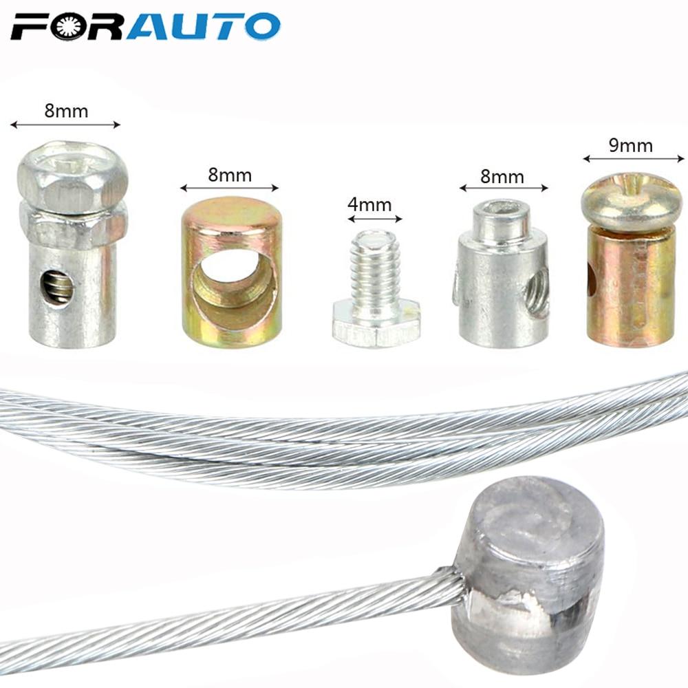 FORAUTO Universal Steel Wire Motorcycle Emergency Throttle Cable Repair Kit For SUZUKI KAWASAKI HONDA