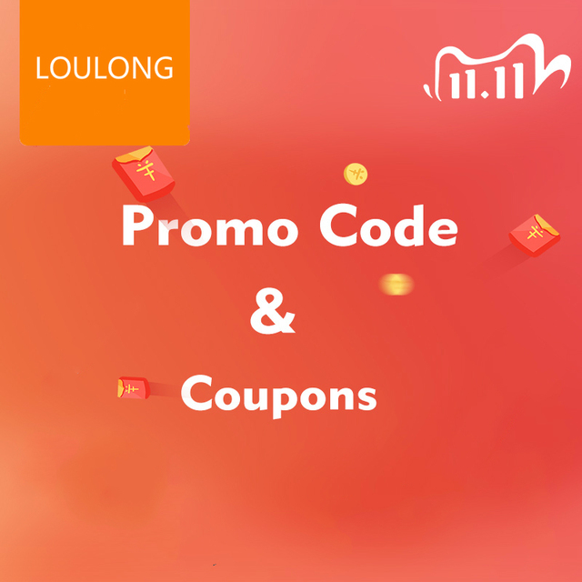 LOULONG 2020 11.11 Global Shopping Festival Shopping Guide - Win Gift!!How to Get the Coupons and Promo Code