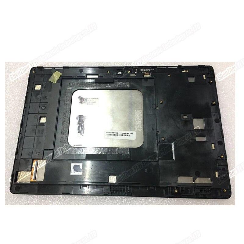Pour Asus ZenPad 10 Z300M P00C tablette numériseur écran tactile LCD panneau en verre avec cadre
