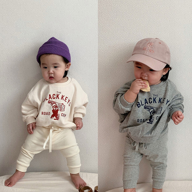 MILANCEL 2020 Spring New Baby Clothing Set Cartoon Style Infant Girls Sports Suit Toddler Boys Outfit Baby Clothes