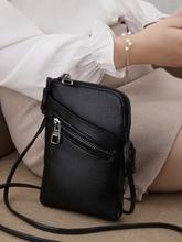 Sacoches en cuir véritable pour femmes, sac à bandoulière de marque, sacs à main et bourses de styliste pour dames