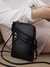 النساء حقائب كتف متنقلة الإناث العلامة التجارية crossbody حقيبة صغيرة المحافظ و حقائب مصمم السيدات حقيبة جلدية أصلية