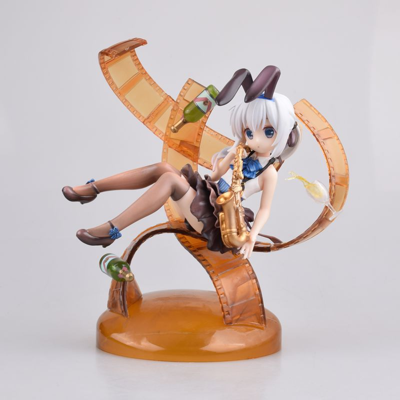 New Anime Is the order a rabbit Kafuu Chino PVC Figure Toys Gifts