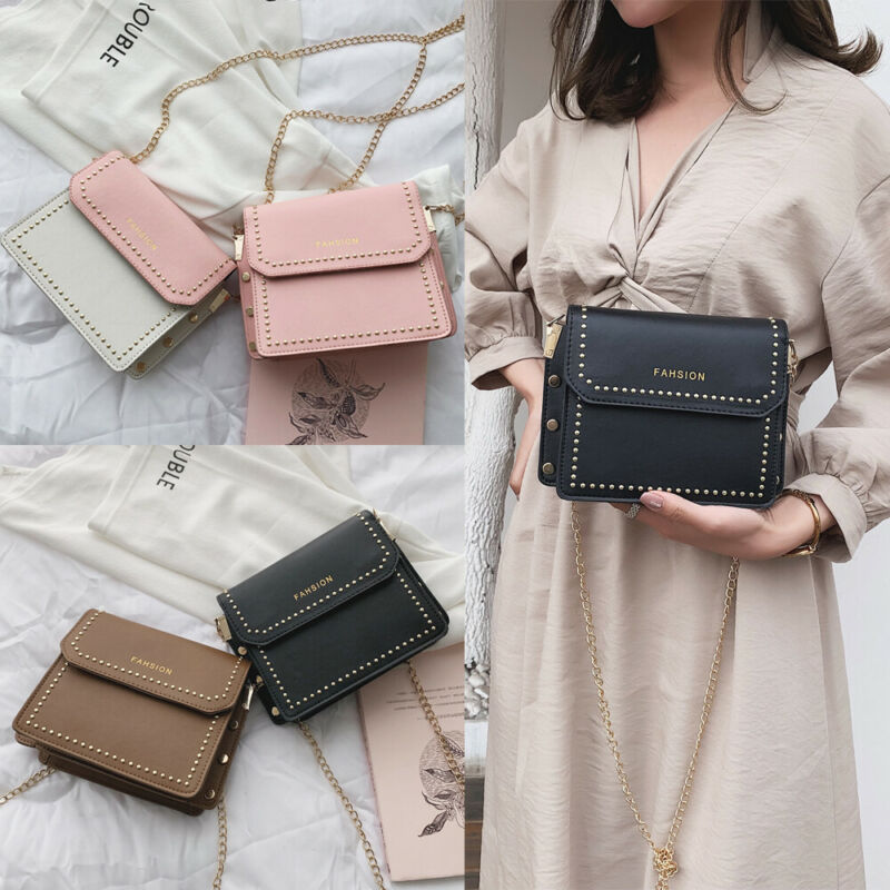 Women Crossbody Bags Satchel Small Square Bag Shoulder Messenger Mobile Phone Packet Bolsa /YL