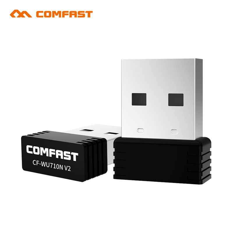 Nano USB Wifi Adapter 150Mbps Antenna PC USB2.0 Wi-fi Receiver Wireless Network Card 802.11b/n/g High Speed USB Lan Ethernet