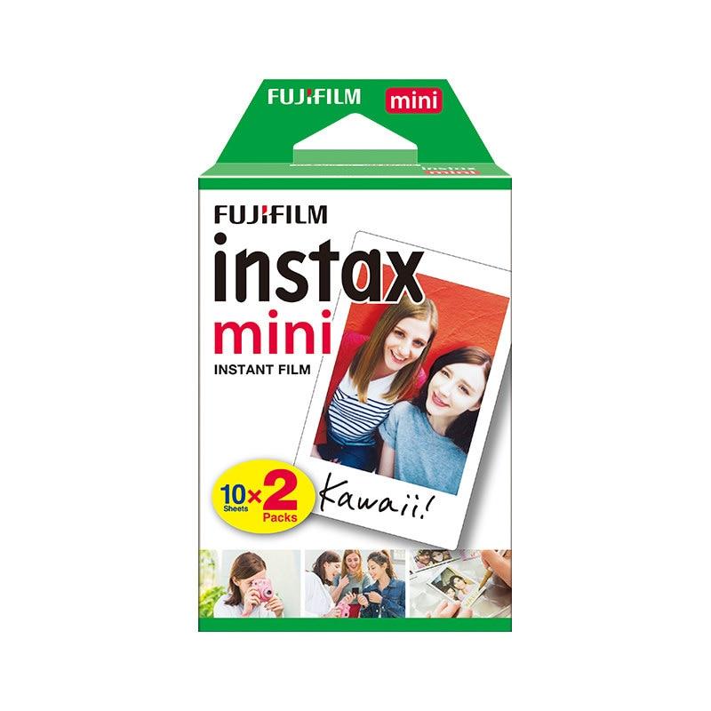 Papel fotográfico fujifilm polaroid instax mini 9, conjuntos de papel fotográfico com borda branca para liplay instant mini liplay 7s 70 90