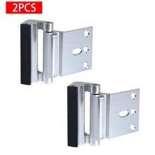 Дверного замка двери для армирования с модернизированным 3''stainless Сталь винты дверная ручка Замок Дверной дропшиппинг