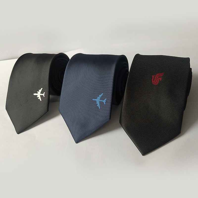 Fashion Style Men Popular Brand Business Office Ties Shirts Uniform Accessories Male Airplane Captain Pilot Costume Tie
