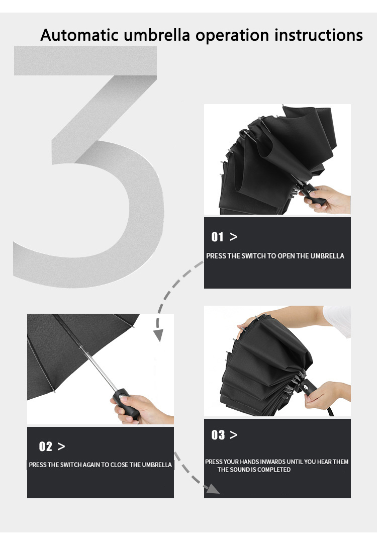 Xiaomi UV Folding Automatic Umbrella Rain Wind Resistant Trip Sun Umbrellas Portable Reverse Umbrella for Xiaomi Ecological
