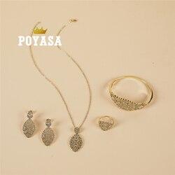 2020 June Caftan wedding  jewelry set for women fashion jewelry set copper high quality jewelry set