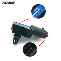 Alta qualidade oem 0261230217 sensor de pressão do coletor de admissão para hon da acura 93399801 0281002437|Sensor de pressão| |  -