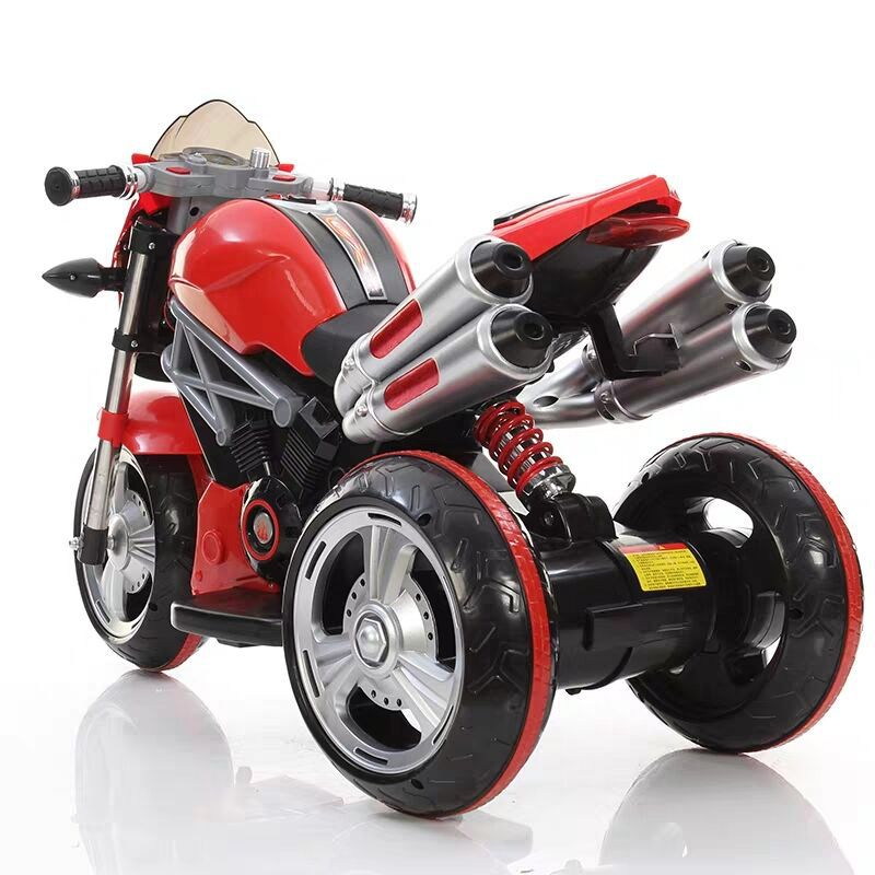 Cool Child Large Electric Car Motorcycle Kids Charging Tricycle Baby Toy Car Cycle Electric Moped