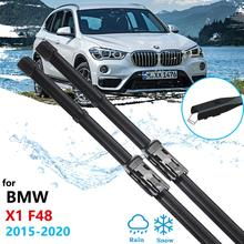 Car Wiper Blades for BMW X1 F48 2015~2020 Front Windscreen Windscreen Wipers Car Accessories 2016 2017 2018 2019 cheap Natural Ruber 0 32kg Clean Front Windshield ISO9001 for BMW X1 F48 2015-2020
