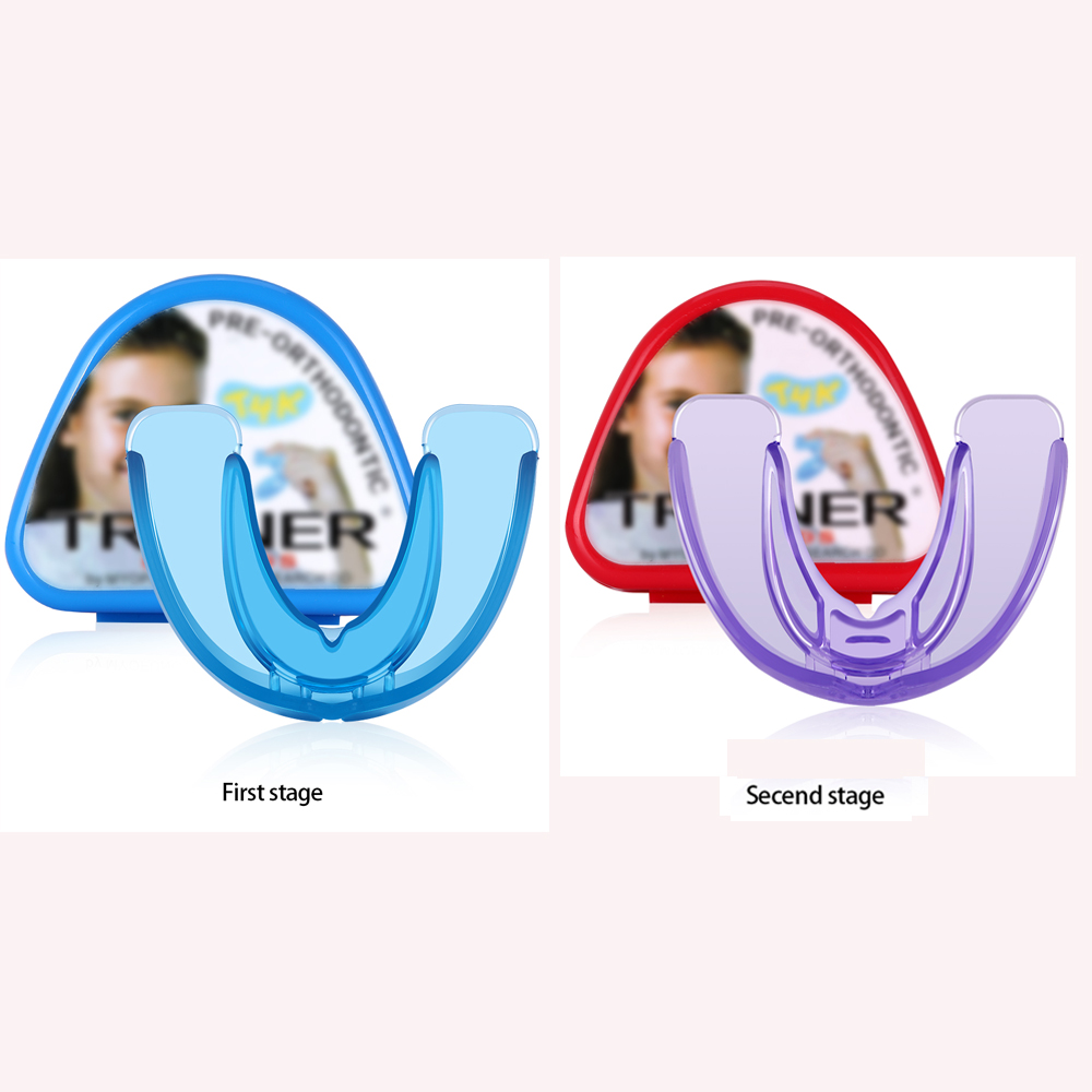 Orthodontic Braces For Children Dental Braces Instanted Silicone Smile Teeth Alignment Trainer Kids Teeth Retainer Mouth Guard