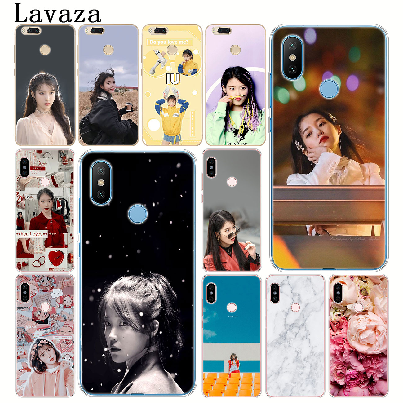 iu wallpaper POP Hard Phone Cover Case for Xiaomi Redmi Redmi K30 K20 8A 7A 6A