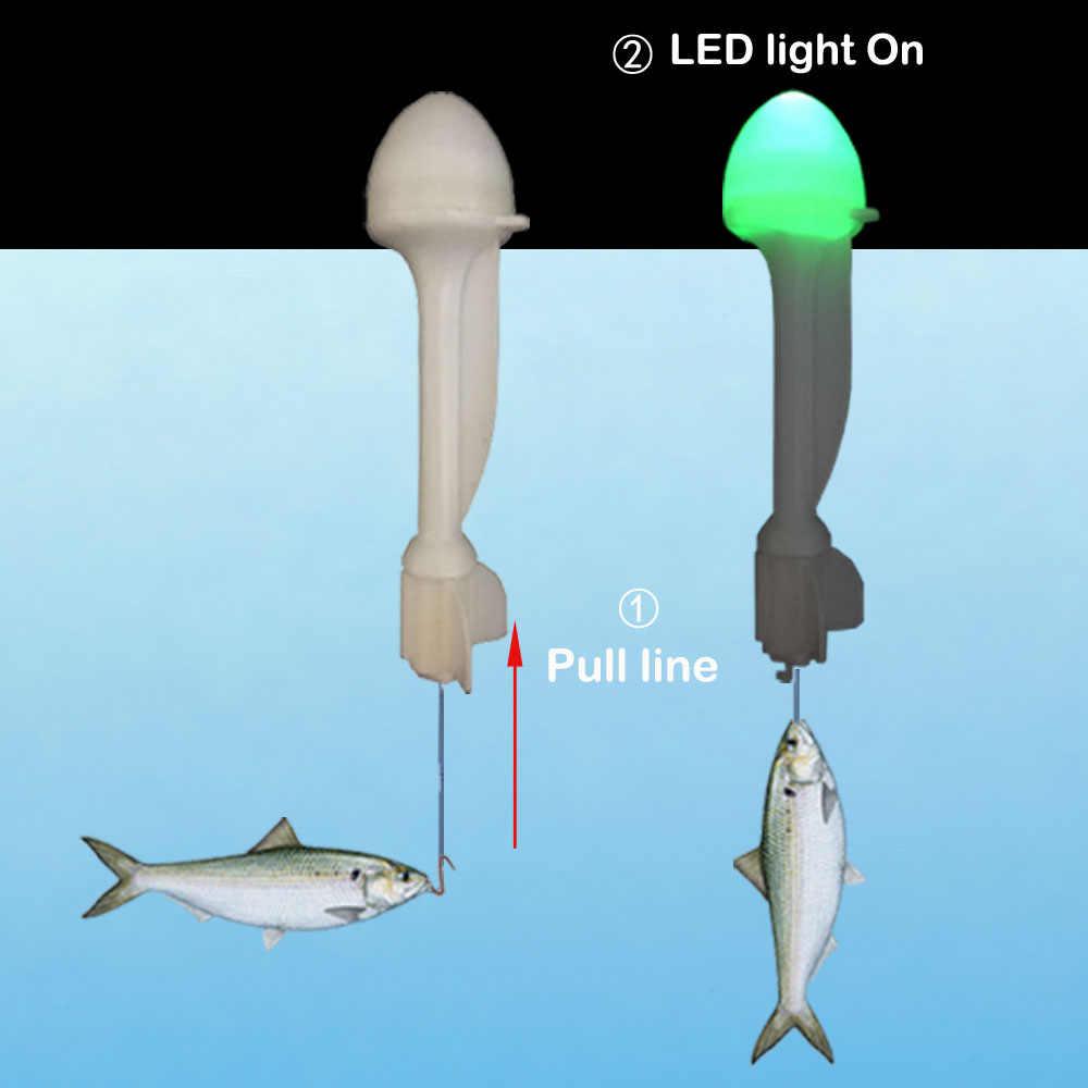 Smart Visserijvlotter Haak Trigger Vangen Vis Automatisch Electronic Night Fishing Boei LED Killer Intelligente Vis Val