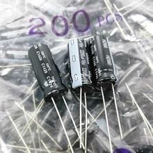 20PCS ใหม่ NICHICON HD 16V2200UF 10X25MM ตัวเก็บประจุอลูมิเนียมอิเล็กโทรไลต์ 2200UF 16V ความถี่ต่ำความต้านทาน 2200 UF/16 V