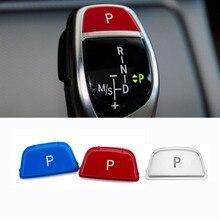 ABS Gear Shift Knob P כפתור כיסוי לקצץ כובע החלפת Fit עבור BMW 2 3 4 5 6 סדרה X3 x4 F22 F23 F30 F31 F34 F32 F33
