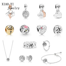 XIAOYI 100%925 pure silver Christmas series tree of life jewelry, a variety of styles are selected and matched with good quality(China)