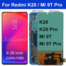 6.39 For Xiaomi Redmi K20 LCD Display Touch Screen Digitizer Assembly mi 9t pro for Xiaomi Mi 9T LCD for Redmi K20 Pro LCD 10piece lot for xiaomi redmi k20 k20 pro case flip leather cases for xiaomi mi 9t mi 9t pro stand case pu leather cover