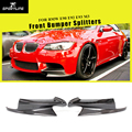 Передний бампер для губ сплиттеры Cupwings для BMW 3 серии E92 E90 E93 Real M3 Sedan Coupe Кабриолет 2007-2013 углеродное волокно/FRP - фото