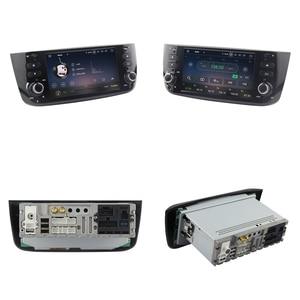 Image 2 - SINOSMART 4G RAM 8 Core CPU سيارة نظام تحديد المواقع والملاحة لاعب لشركة فيات لينيا بونتو Evo Grande بونتو 2005 2020 مع Canbus