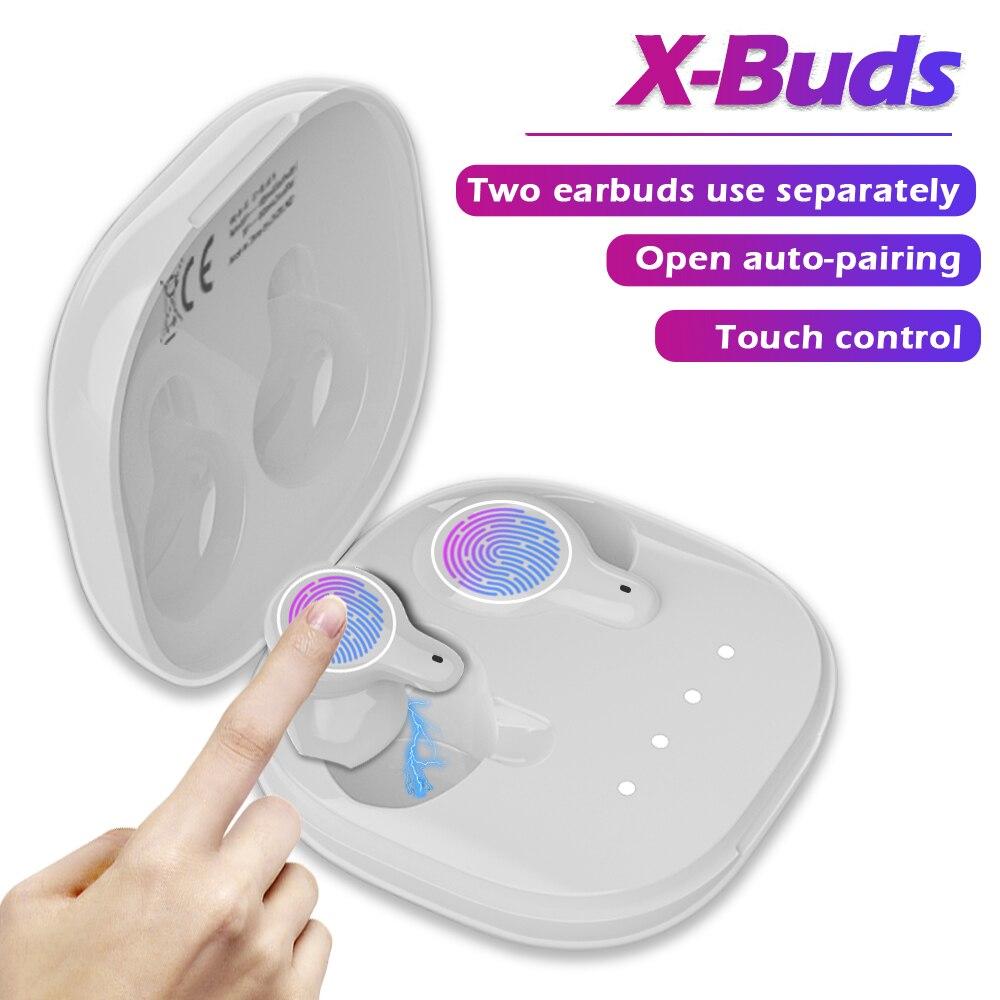 Cigfun X-Knospen TWS Bluetooth Kopfhörer Mini Drahtlose Ohrhörer IPX5 Wasserdichte Sport Stereo Headset mit Mic Für Xiaomi Telefon